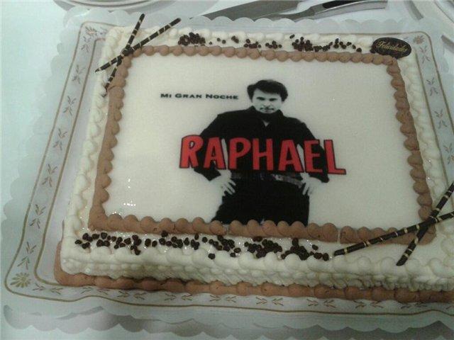 Рафаэль поздравление в днем рождения стих
