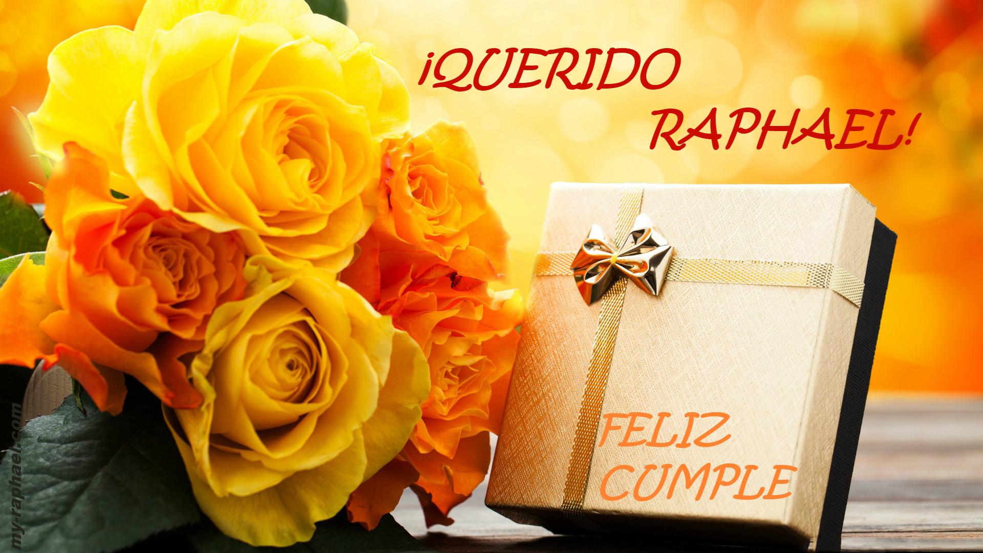 поздравление рафаэля с днём рождения